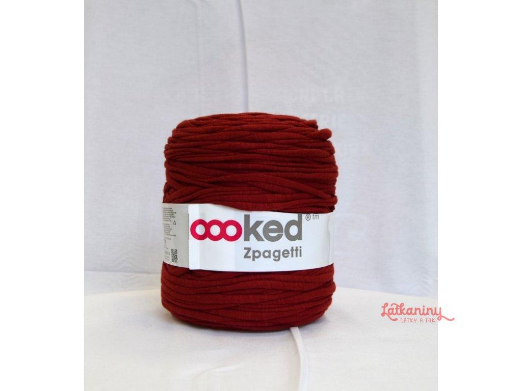 Textilní příze špagáty - cihlová