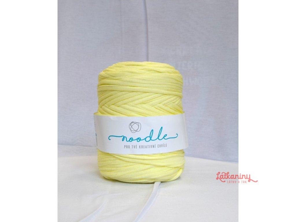 Textilní příze špagáty - žlutá