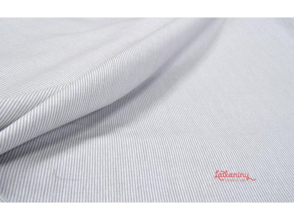 latka bavlna proužek