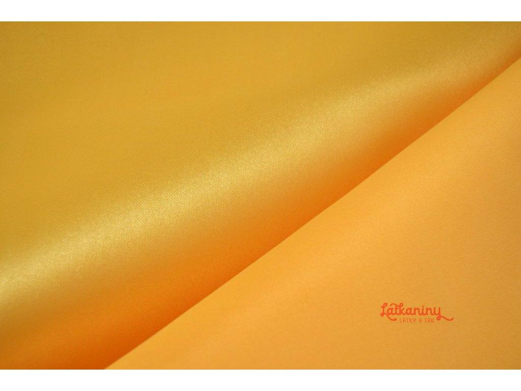 satén_žlutý_latkaniny