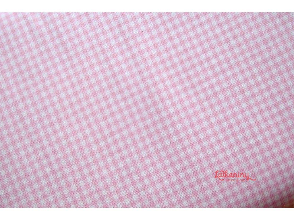 Kostička růžová  Kostička o velikosti 2,7 mm