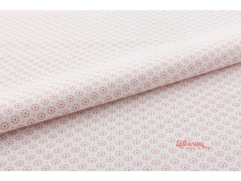 starorůžova bavlna