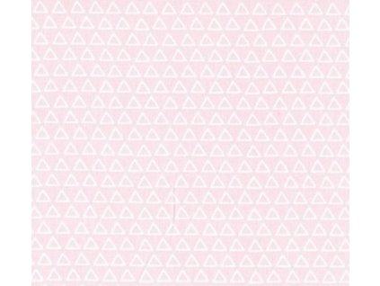 nasua trojuhelniky ruzova latka
