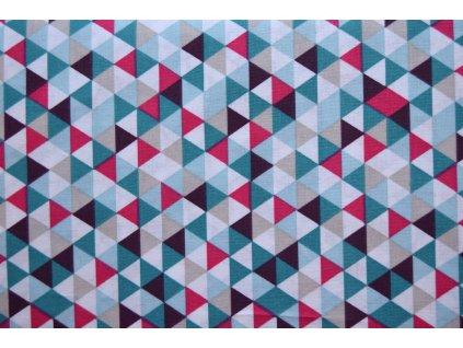 Bavlna trojúhelníky