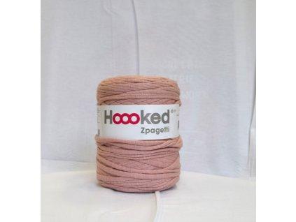 Textilní příze špagáty - starorůžová
