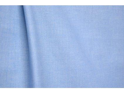 bavlna_jednobarevná_modrá_latkaniny
