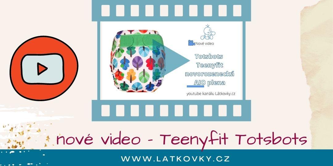 Nové video - Teenyfit Totsbots