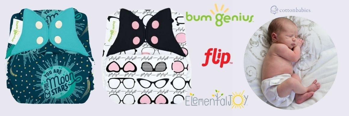Nově skladem Bum Genius a Flip!