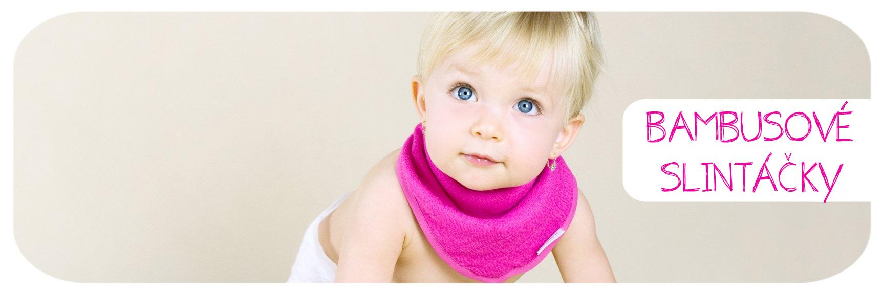 Dětské slintáčky na ochranu hrudníku