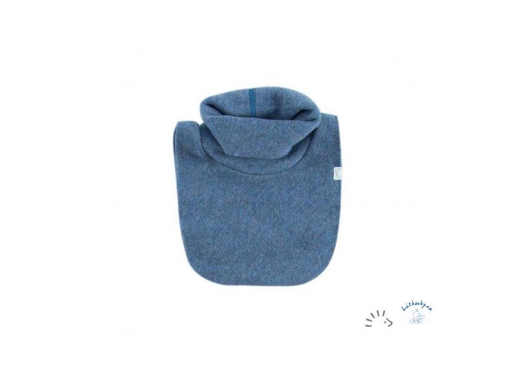 nákrčník modrý