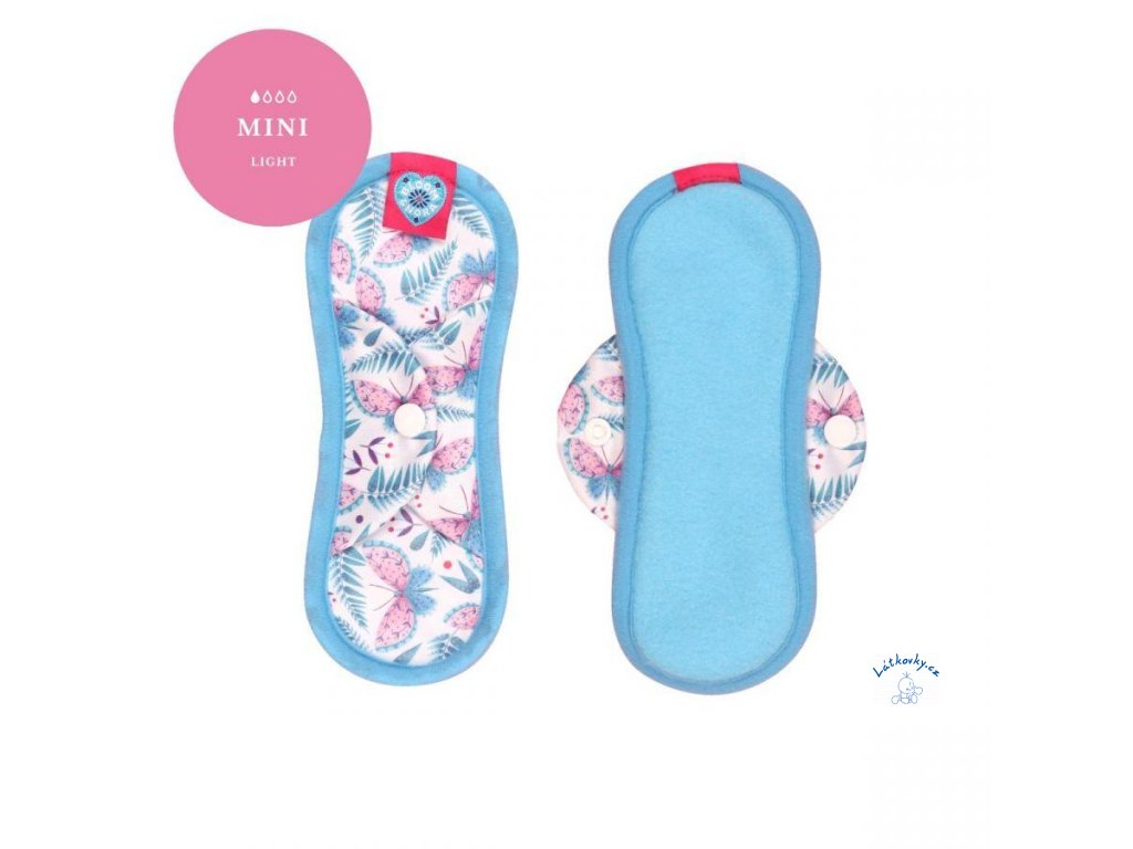 bloom and nora bloomers mini cloth sanitary pad menstrual flutter