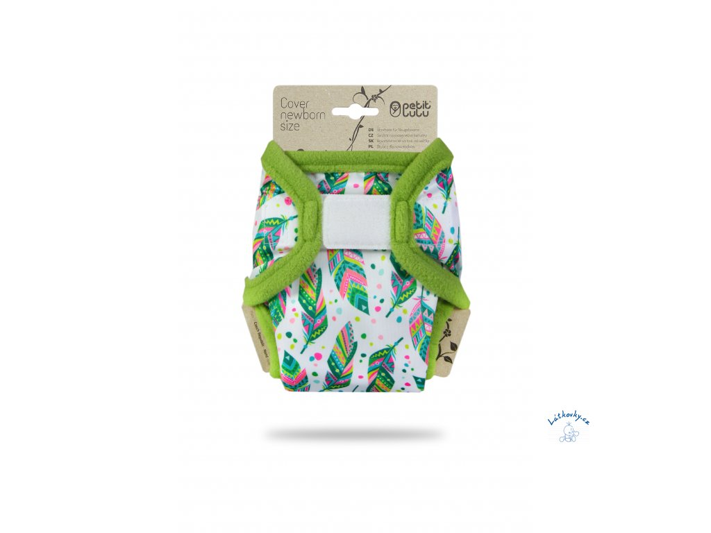 102552 Indiánské léto novorozenecké svrchní kalhotky