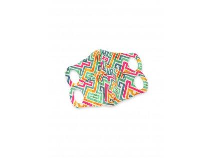 102684 Komfortní rouška s drátkem labyrint 2 ks M scaled