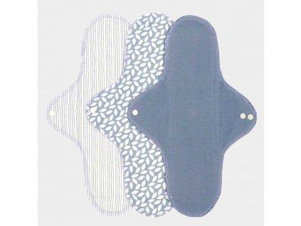 18382 sanitary pads large denim noční