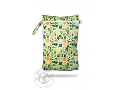 Pytel na pleny Petit Lulu GO GREEN, zip 45X30 cm