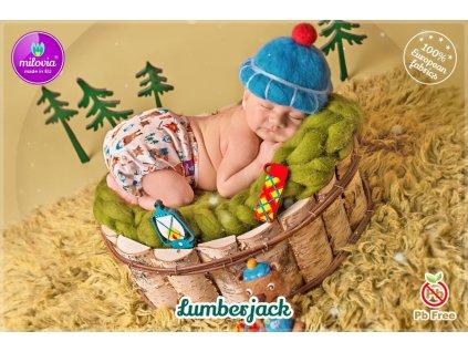 29742 milovia novorozenecke svrchni lumberjack