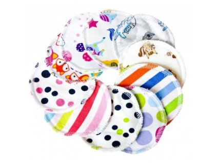 Odličovací tampony Majab, mix, 10 ks