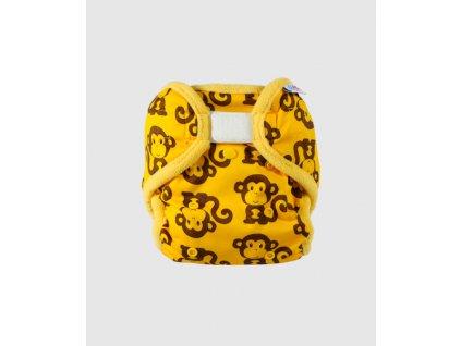 Petit Lulu OS svrchní kalhotky žluté opičky