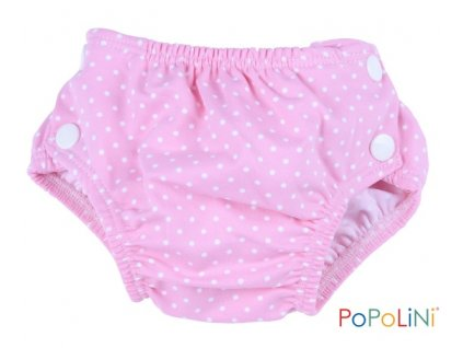 32691 plenkove plavky popolini vel s dots pink