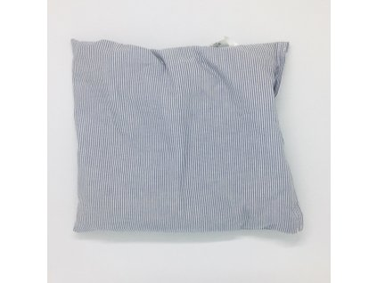 34674 tresnovy polstarek popolini prouzek 26x23 cm