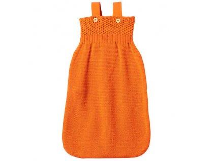 Vlněný pytel na spaní Disana, vel. 1, oranžová (Velikost vel. 1 (65 cm))