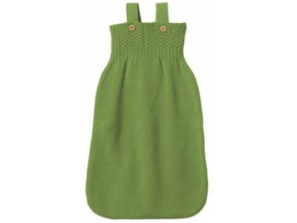 Vlněný pytel na spaní Disana, zelený (Velikost vel. 2 (75 cm))
