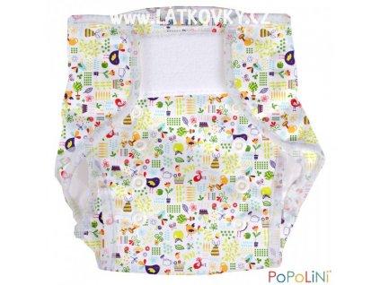 38292 polyesterky easywrap onesize garden tunes