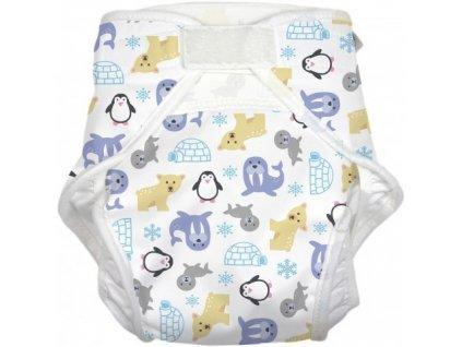 Kalhotky ImseVimse ONE SIZE (4-16 kg),  vzor SNÍH - new!!