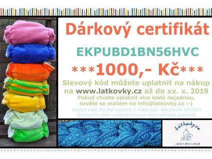darkovy certifikat kopie