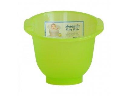 Koupací kyblík Shantala zelený