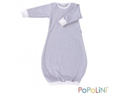 Košilka pro bezplenkovku - GOWN -  šedý proužek