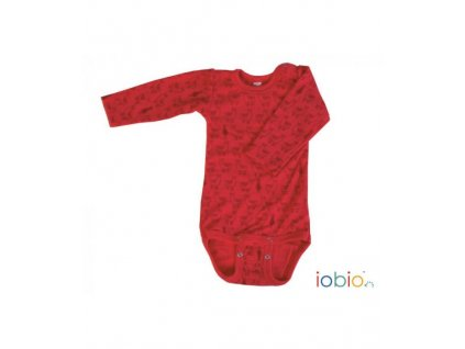 body dlouhy rukav iobio lama red