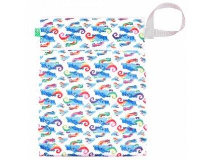tots bots reusable nappy wet bag breeze
