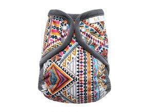 Svrchní kalhotky XL Breberky PAT (KŘ) - INDIÁNSKÉ ORNAMENTY