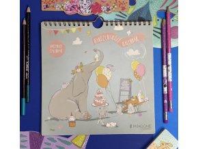 vecny narozeninovy kalendar slon 01
