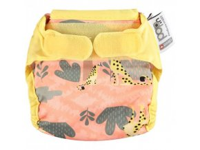236123 Newborn Nappy Cheetah Front s