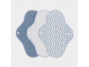 18381 sanitary pads regular denim denní