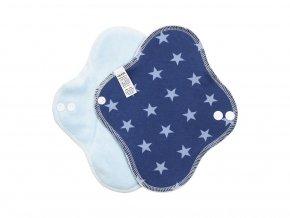 22784 1 denni bavlna hvezdicky modre