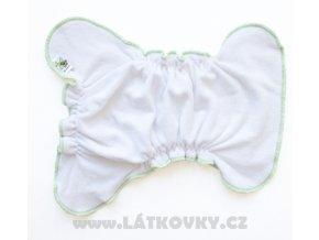 MAJAB novorozenecká SNAPPI - Bílá/jablíčková