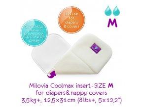 MILOVIA Coolmax vkládací plena M