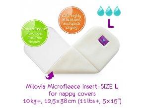 MILOVIA Stay Dry Inserts (flís) L