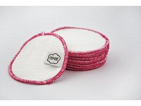 Odličovací tampony Imse Vimse - růžový lem