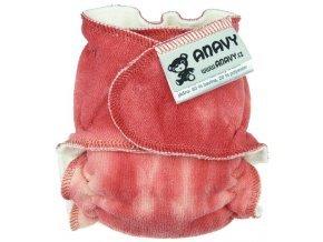35946 anavy novorozenecka plenka na snappi sponku cervena batika