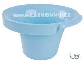 Potty L W-free - bezplenkový nočníček popolini -  modrá