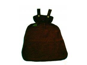 Vlněný pytel na spaní Disana, vel. 2, čokoláda (Velikost vel. 2 (75 cm))
