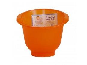 Koupací kyblík Shantala oranžový