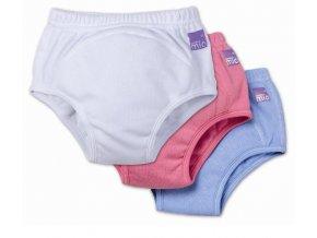 Učící kalhotky BambinoMio (Barva/typ vel. 13-16kg, bleděrůžová)