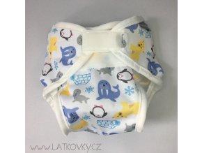 Kalhotky Imse soft, SNÍH - nový model, nové velikosti (Možnosti S - 4 - 8 kg)