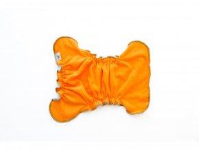 409(2) kalhotkova plenka na snappi oranzova cerna