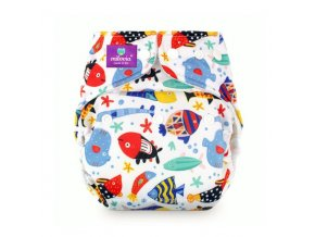 milovia nappy cover one size Fish Team 2